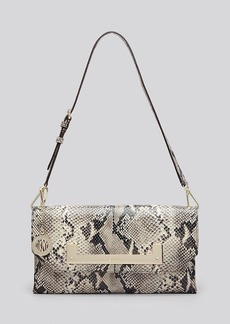 DKNY Shoulder Bag - Python-Embossed Flap
