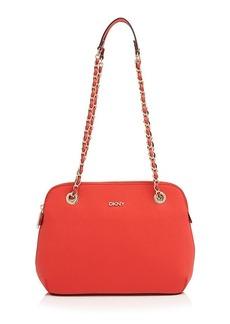 DKNY Shoulder Bag - Round Saffiano Chain Handle