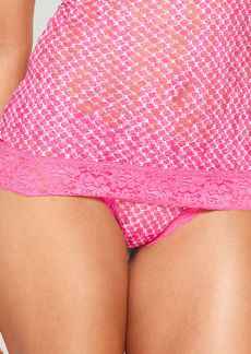 DKNY Signature Lace Thong 576000