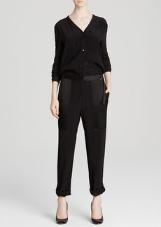 DKNY Slouchy Jumpsuit