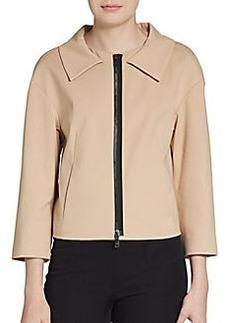 DKNY Stretch Cotton-Blend Jacket