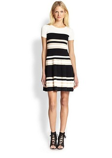 DKNY Striped Dress