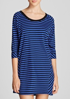 DKNY Striped Sleepshirt
