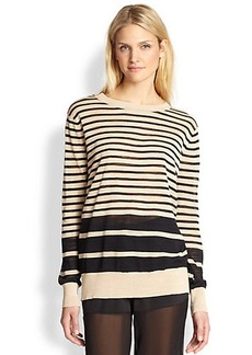 DKNY Striped Top