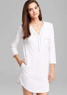 DKNY Three Quarter Sleeve Sleepshirt