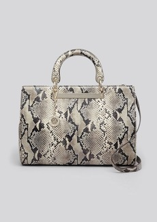 DKNY Tote - Python-Embossed Large Shopper