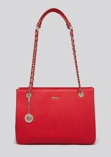 DKNY Tote - Saffiano Shopper With Chain