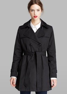 DKNY Trench Coat - Double Breasted Hooded