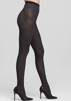 DKNY Tweed Herringbone Tights