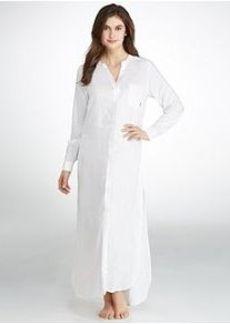 DKNY Woven Shirt Dress Caftan