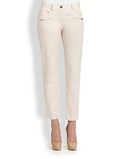 DKNY Zippered Skinny Jeans