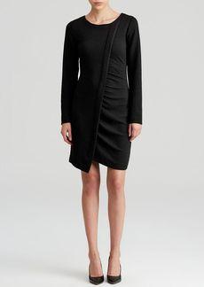 DKNYC Asymmetric Front Dress