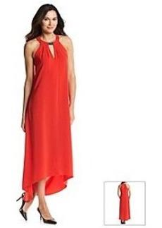 DKNYC® Crepe Halter Dress