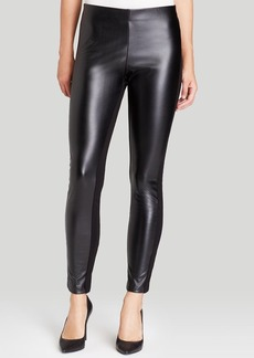 DKNYC Faux Leather Leggings