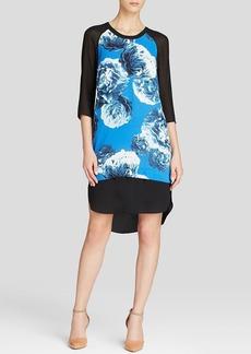 DKNYC Peony Print Dress