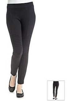 DKNYC® Puckered Motto Leggings