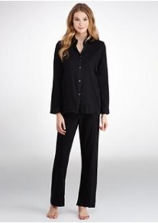 Donna Karan Cotton Sateen Pajama Set