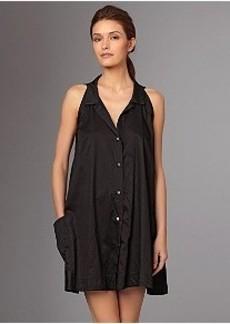 Donna Karan Cotton Sateen Woven Sleep Shirt