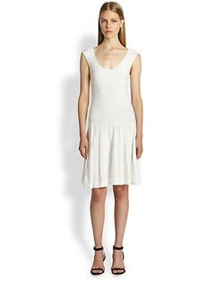 Donna Karan Fit-&-Flare Dress