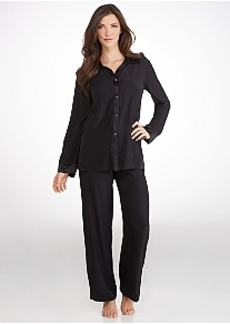 Donna Karan Glamour Silk Pajama Set