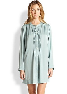 Donna Karan Laundered Satin Sleepshirt