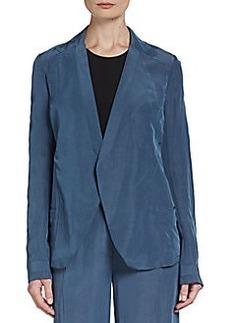 Donna Karan Relaxed Seam-Detailed Jacket