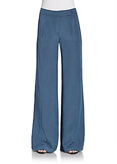 Donna Karan Relaxed Wide-Leg Trousers
