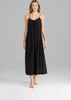 Donna Karan Sleepwear Cotton Batiste Long Gown