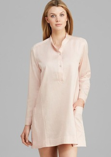 Donna Karan Sleepwear Cotton Sateen Sleepshirt