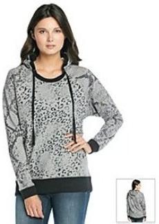 DKNY JEANS® Animal Print Hoodie