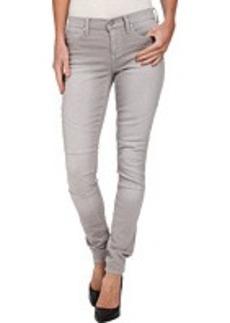 DKNY Jeans Avenue B Ultra Skinny Pastel Color Denim in Ash Grey