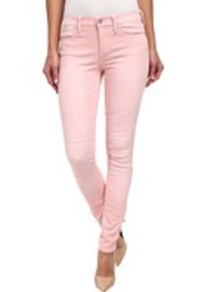 DKNY Jeans Avenue B Ultra Skinny Pastel Color Denim in Flamingo