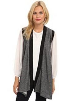 DKNY Jeans Drapey Cozy Vest