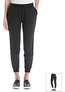 DKNY JEANS® Eyelet Pieced Track Pants