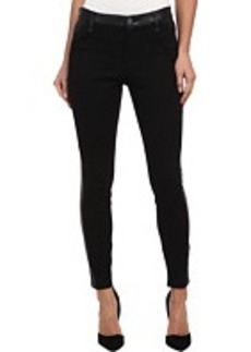 DKNY Jeans Faux Leather and Ponte Pant