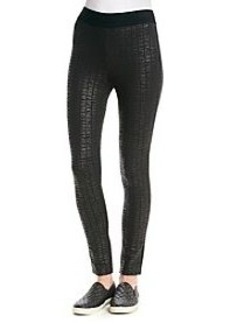 DKNY JEANS® Logo Print Leggings