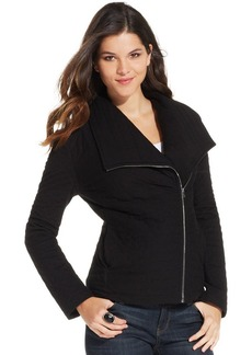 DKNY Jeans Long-Sleeve Quilted Moto Jacket