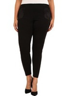 DKNY Jeans Plus Size Pieced Ponte Legging