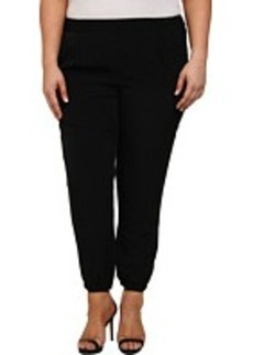 DKNY Jeans Plus Size Solid Silky Track Pants