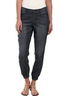 DKNY Jeans Relaxed Jogger Light Weight Denim in Sheer Wash