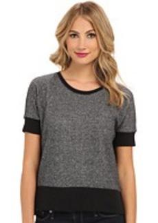 DKNY Jeans Rhinestone East and West Sweatshirt