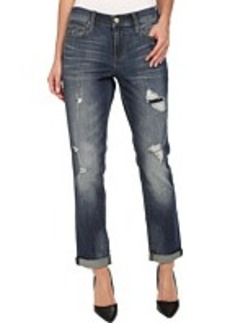 DKNY Jeans Rip and Repair Bleecker Boyfriend Jean in Catalina Wash