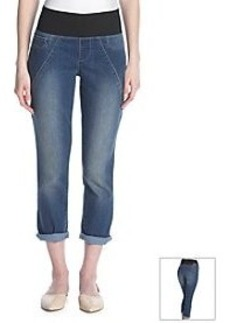 DKNY JEANS® Sculpted Legging Roll Crop Jeans