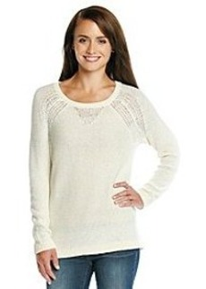 DKNY JEANS® Sequin Pullover Sweater