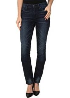 DKNY Jeans Soho Skinny Knit Denim in Kinetic Wash