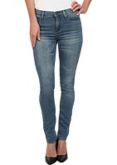 DKNY Jeans Soho Skinny Knit Denim in Warmup Wash