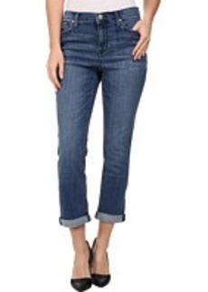 DKNY Jeans Soho Skinny Rolled Crop in Midsummer Wash