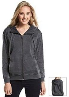 DKNY JEANS® Studded Full Zip Hoodie