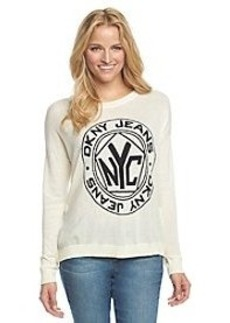 DKNY JEANS® Token Logo Sweater