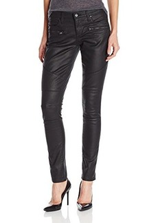 DKNY Jeans Women's Ave B Ultra Skinny Moto With Zippers